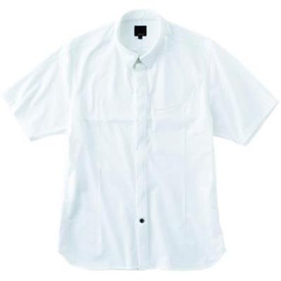 レリック サイクルショートスリーブシャツ ホワイト