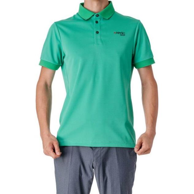 レリック UV吸水速乾 半袖ポロシャツ グリーン