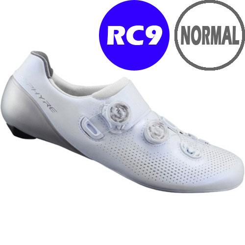 【SALE】シマノ RC9(SH-RC901) ホワイト ノーマルタイプ SPD-SL シューズ BOA 190809
