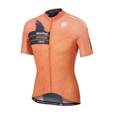 スポーツフル SDR オレンジ/ブラック 半袖ジャージ