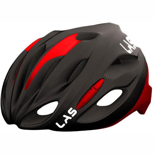 ラス COBALTO マットブラック/レッド ヘルメット