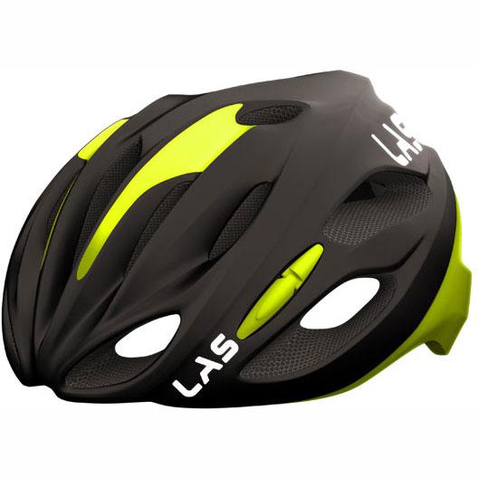 ラス COBALTO マットブラック/イエロー ヘルメット