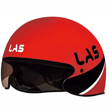 ラス CRONOMETRO レッド ヘルメット