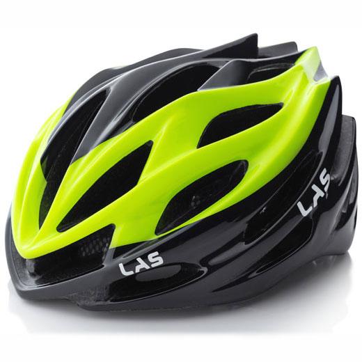 ラス GALAXY2.0 ブラック/イエロー ヘルメット