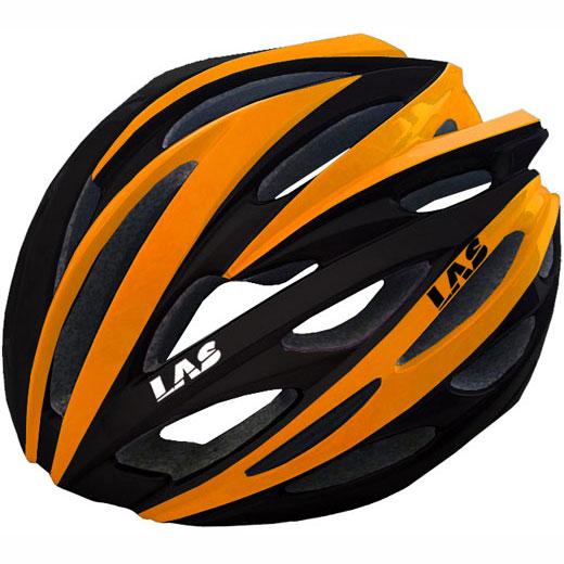 ラス VOYAGER ブラック/オレンジ ヘルメット
