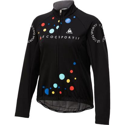 ルコック レディース 3Lボンディングジャケット ブラック