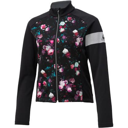 ルコック レディース マルチローズボンディングジャケット ブラック