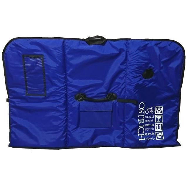 【特急】【輪行マニュアルプレゼント】オーストリッチ OS-500 トラベルバッグ ネイビーブルー