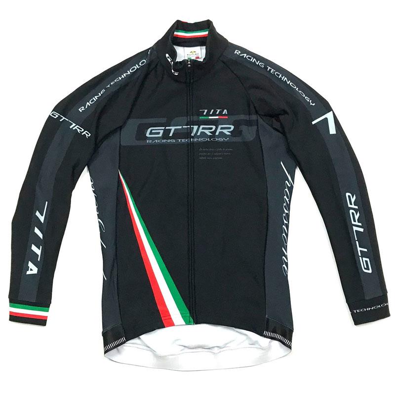 セブンイタリア GT-7RR 2 LS Jersey ブラック