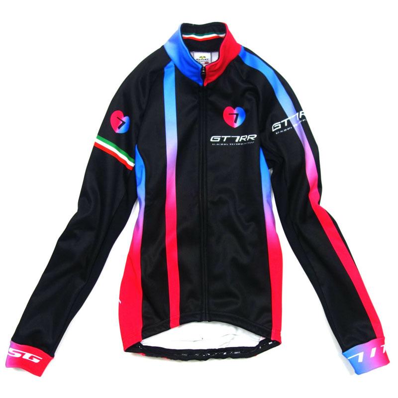 セブンイタリア GT-7RR 2 Lady Jacket ブラック/レッド