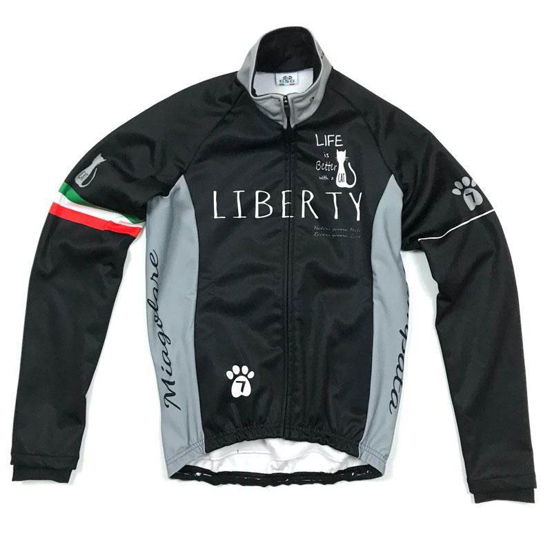 セブンイタリア Liberty Cat Jacket ブラック