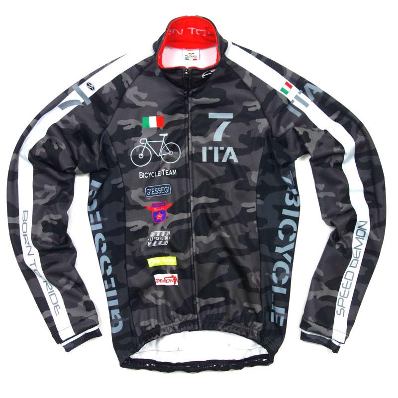 セブンイタリア Neo Army Bike Team Jacket カモ