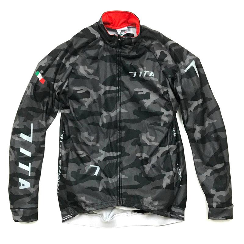 セブンイタリア Neo Camo Wind Jacket ブラック
