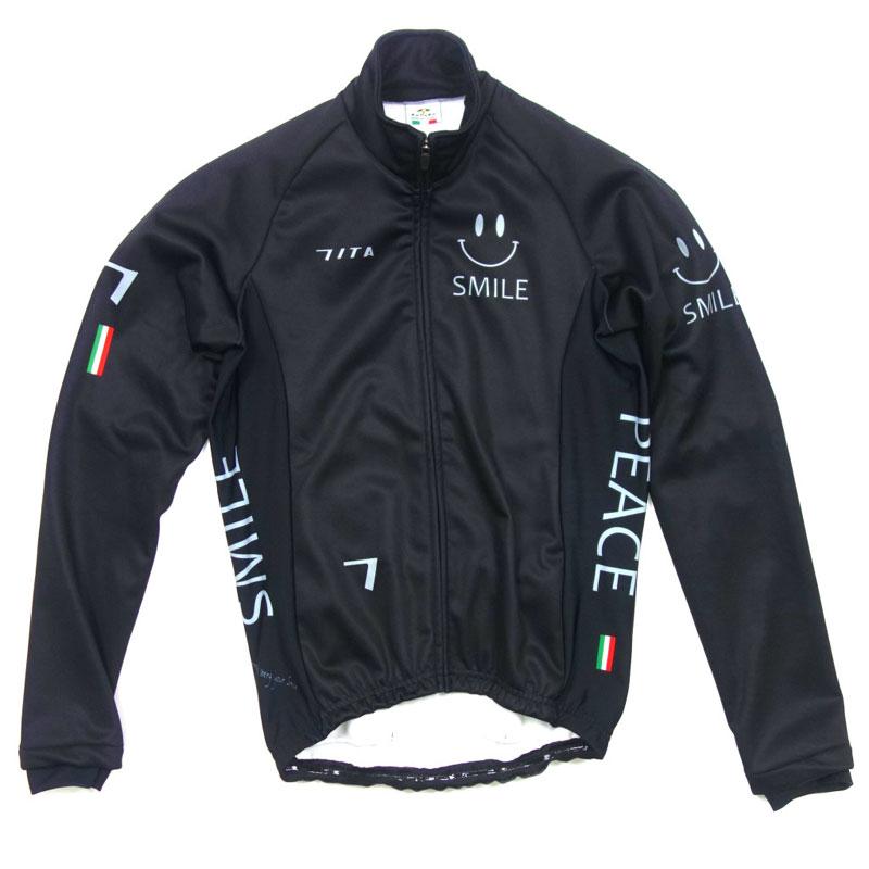 セブンイタリア Neo Happiness Smile Jacket ブラック