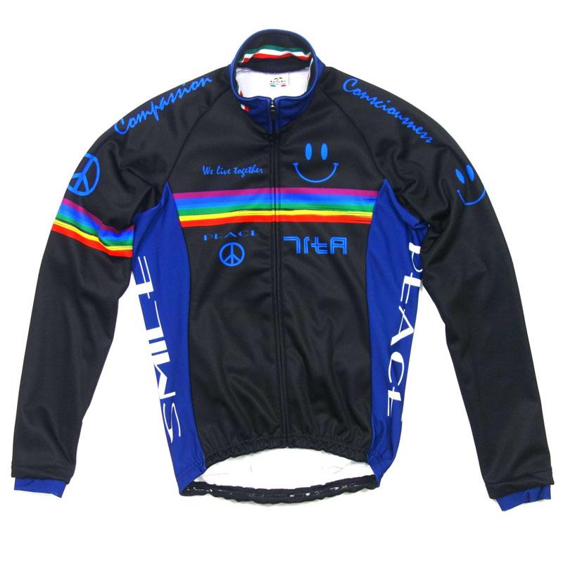 【現品特価】セブンイタリア Neo Rainbow Smile Jacket ブラック
