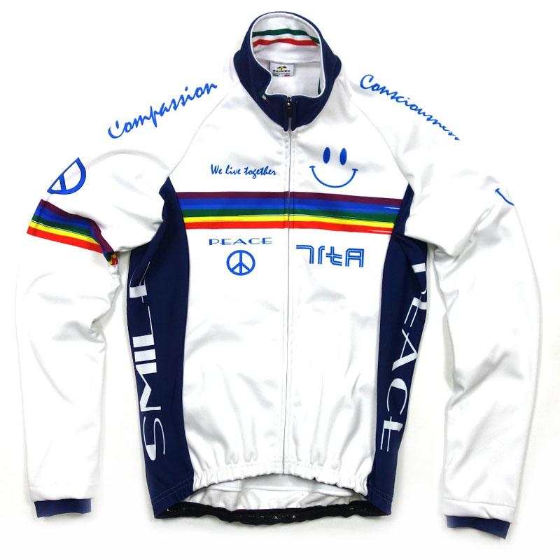 セブンイタリア Neo Rainbow Smile Jacket ホワイト