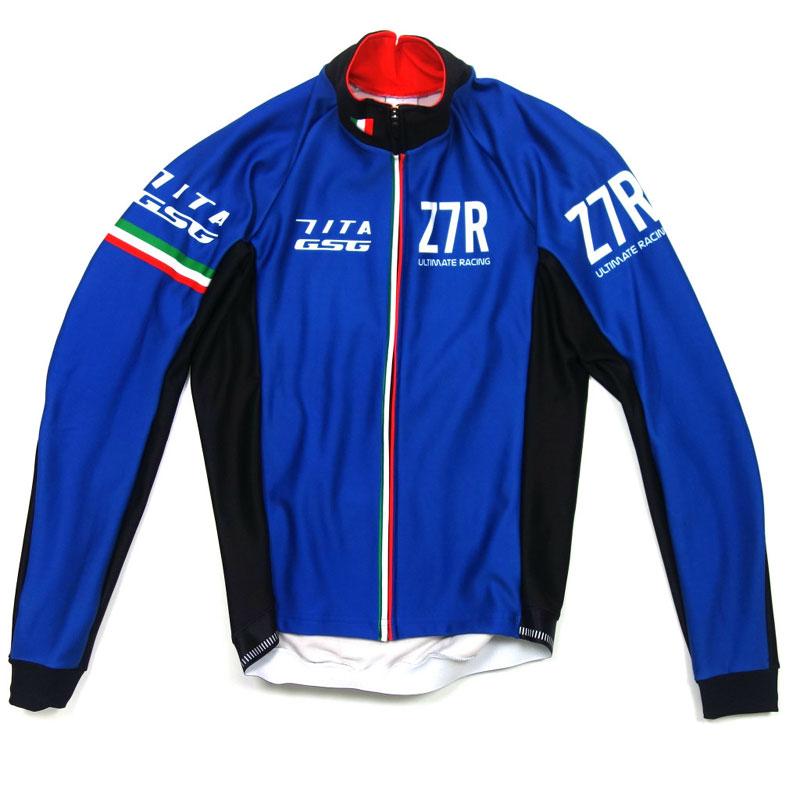 セブンイタリア Z7R eVent Softshell Jacket ブルー