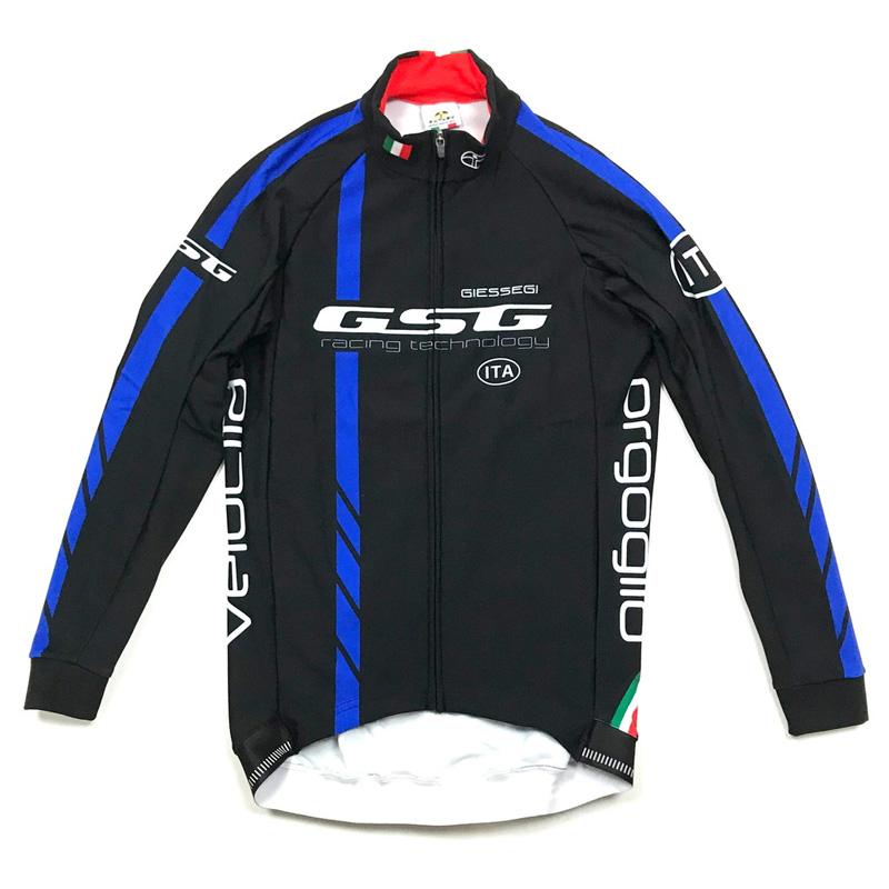 【現品特価】GSG GZ-R LS Jersey ブラック/ブルー