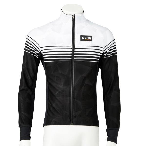 リオン・ド・カペルミュール コンペティションジャケットEVO スピードライン ホワイト×ブラック レディース
