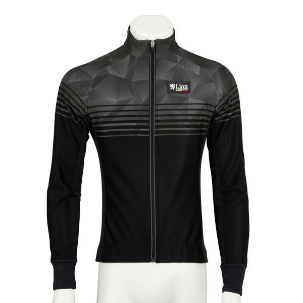 リオン・ド・カペルミュール コンペティションジャケットEVO スピードライン グレー×ブラック