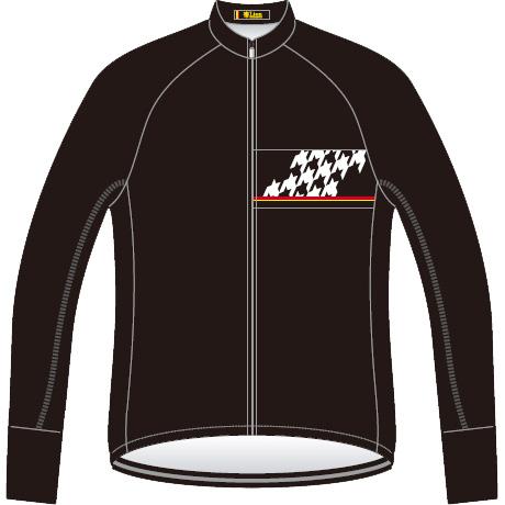 リオン・ド・カペルミュール レーシングサーモジャケット 千鳥チップ リオンブラック レディース