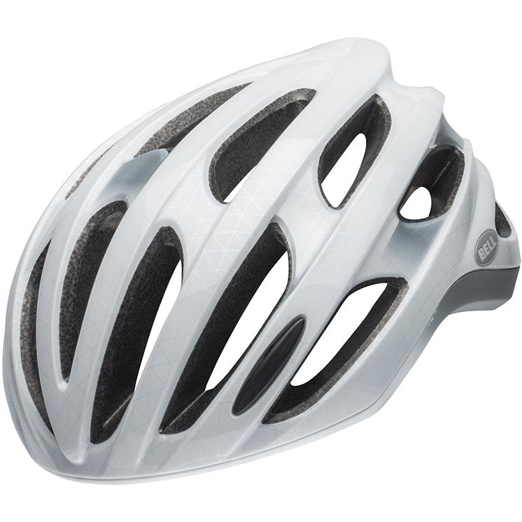 【上品】 ベル LED フォーミュラ LED MIPS MIPS ホワイト ベル/シルバー ヘルメット, パストラルフラワー:81a8d2c4 --- business.personalco5.dominiotemporario.com