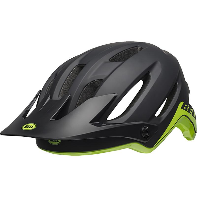 ベル 4フォーティ MIPS ブラック/ブライトグリーン ヘルメット