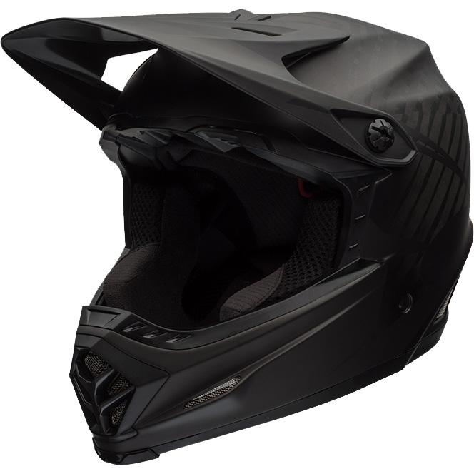 ベル フルナイン マットブラック/グレイ ヘルメット
