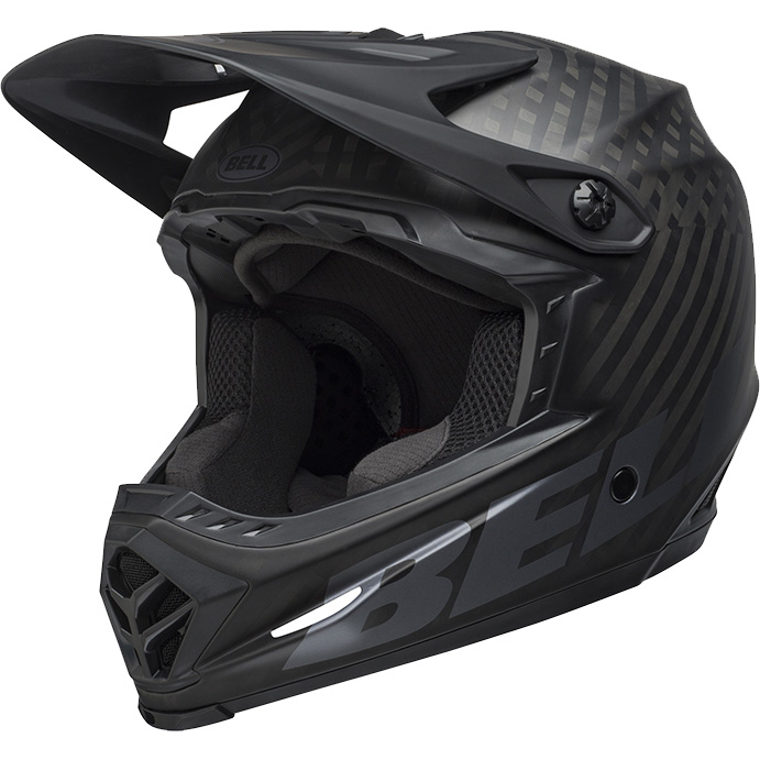 ベル フルナイン マットブラック ヘルメット