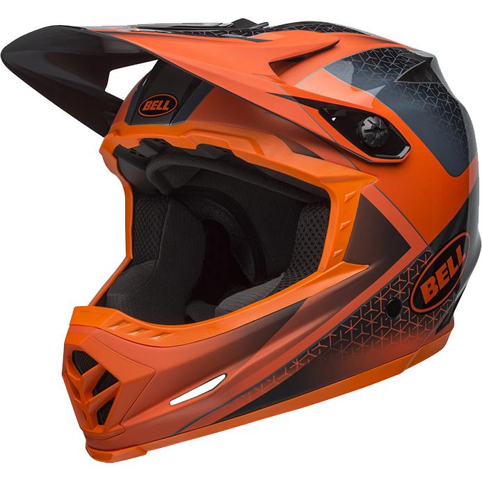 ベル フルナイン スレート/オレンジ ヘルメット