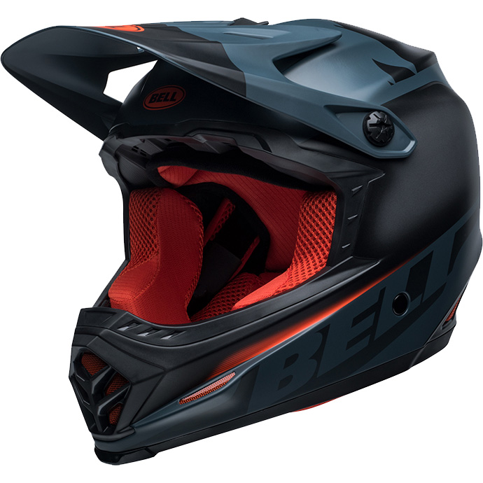 ベル フルナイン フュージョン MIPS マットストレート/オレンジ ヘルメット