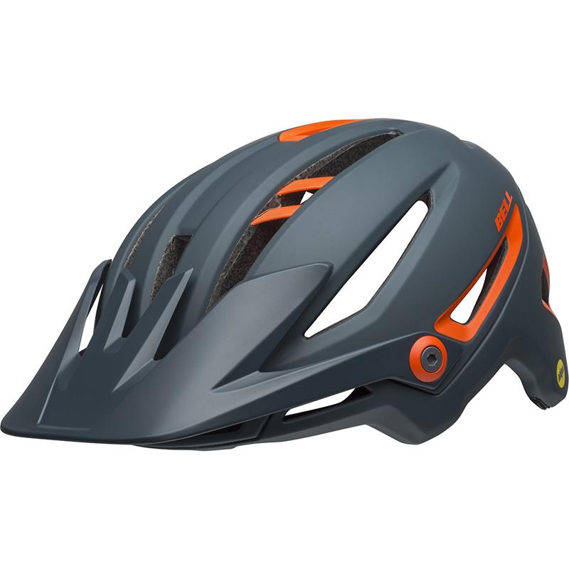 ベル シクサー MIPS マットスレート/オレンジ ヘルメット