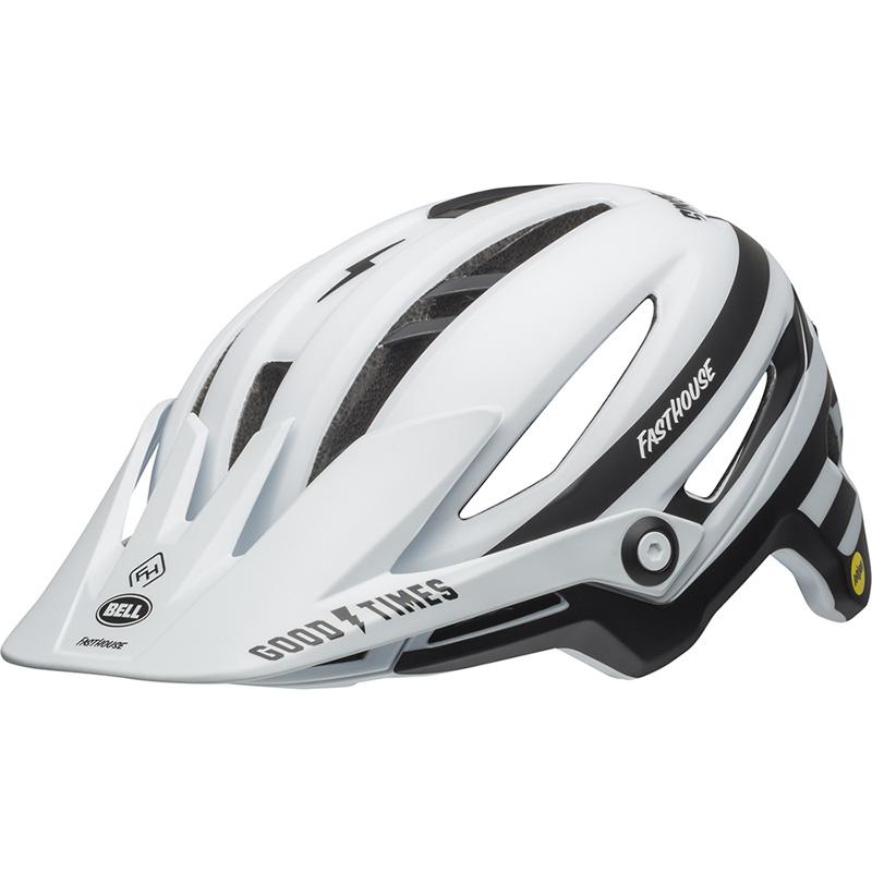 ベル シクサー MIPS マットホワイト/ブラック ファストハウス ヘルメット
