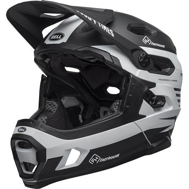 ヘルメット MIPS ファストハウス スーパー DH ベル ブラック/ホワイト