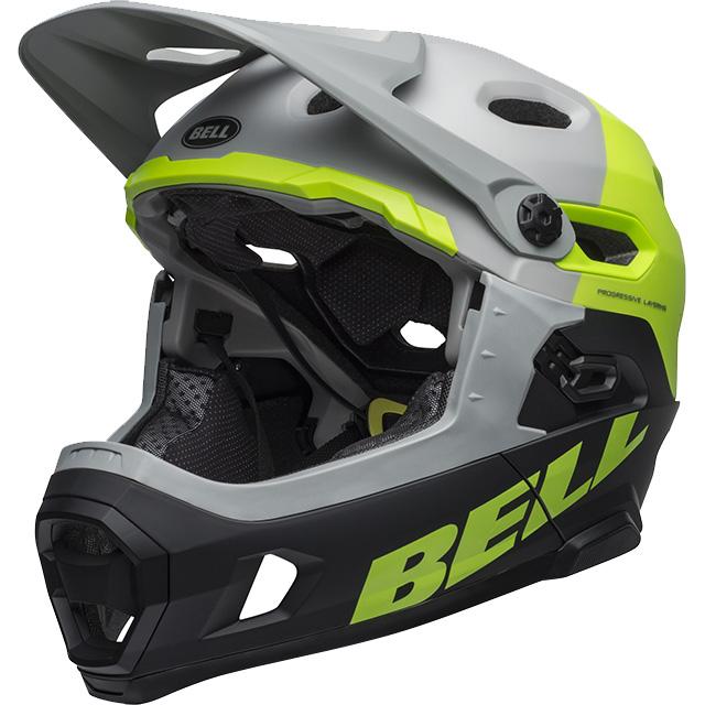最新入荷 ベル ヘルメット スーパー DH MIPS グレー スーパー/グリーン/ブラック MIPS ヘルメット, 祖父江町:ff0ba8ab --- clftranspo.dominiotemporario.com