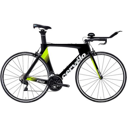 【代引不可】19サーベロ P2 105 R7000 ブラック/フルオロ/ホワイト【自転車】【ロードレーサー】