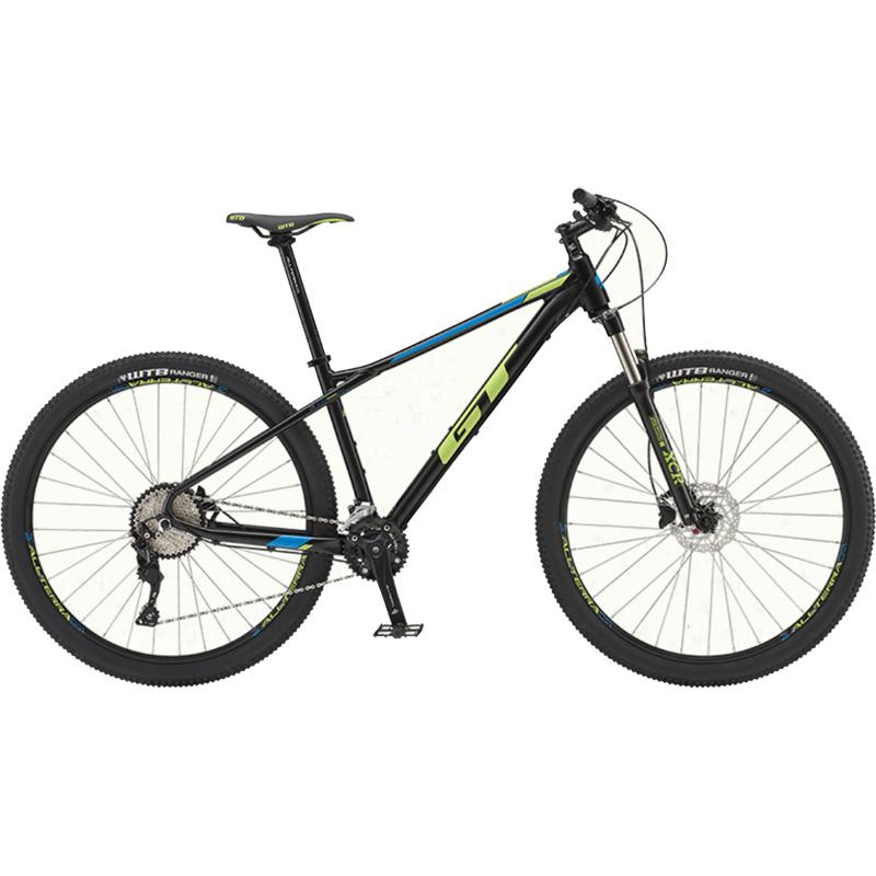 【代引不可】19GT AVALANCHE ELITE ブラック【自転車】【マウンテンバイク】
