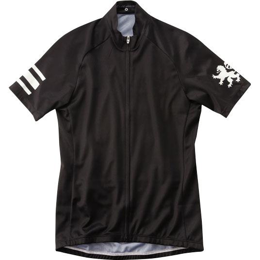 カペルミュール 半袖ジャージ ブラック×ホワイト
