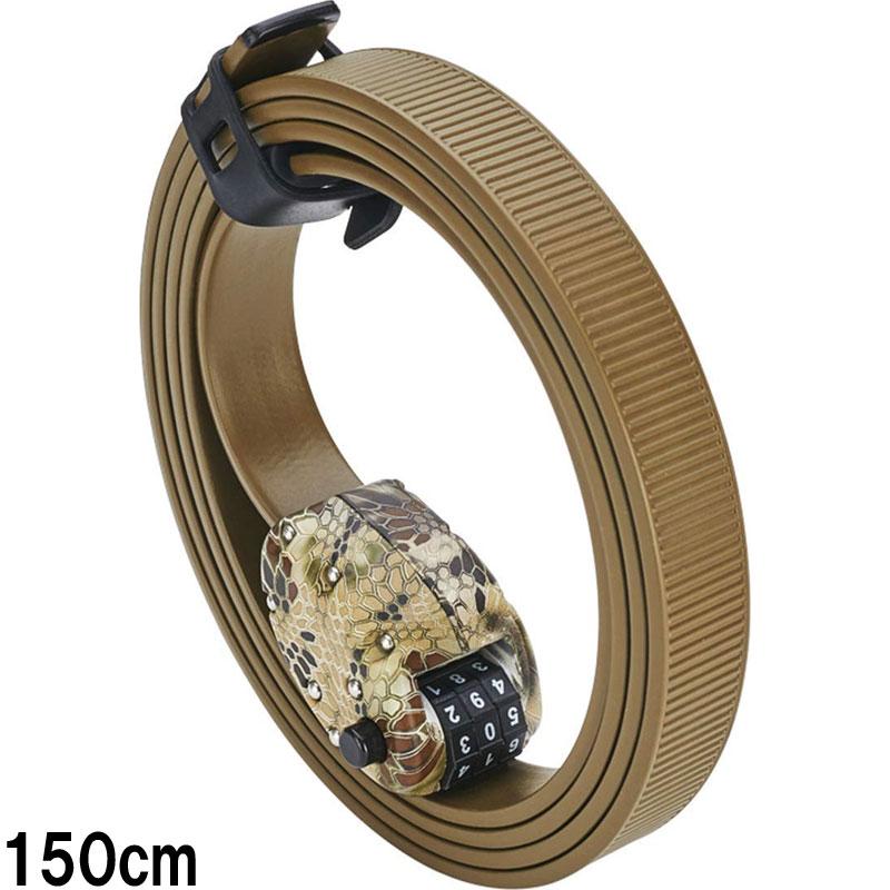 【あす楽】オットーロック Cinch Lock 150cm カモ 1本 ステンレスバンド ケブラーカバー ダイヤルロック