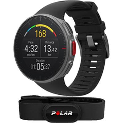 ポラール VANTAGE V HR ブラック センサー付き GPS リストバンド型 心拍計 活動量計 Bluetooth対応