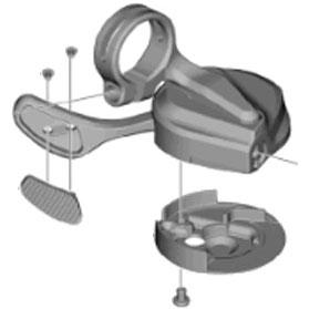 [1]シフティングレバーユニット(左用)