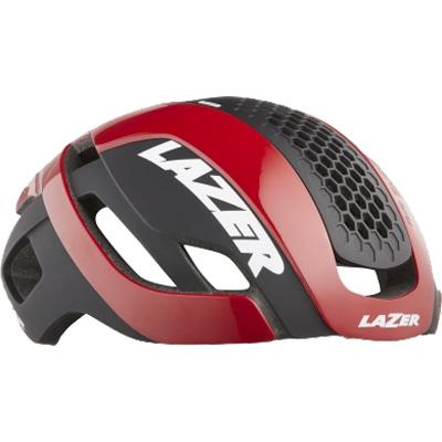 シマノレイザー バレット 2.0 AF アジアンフィット レッド レンズ、LEDテールライト、ライフビーム付属 ヘルメット LAZER レーザー