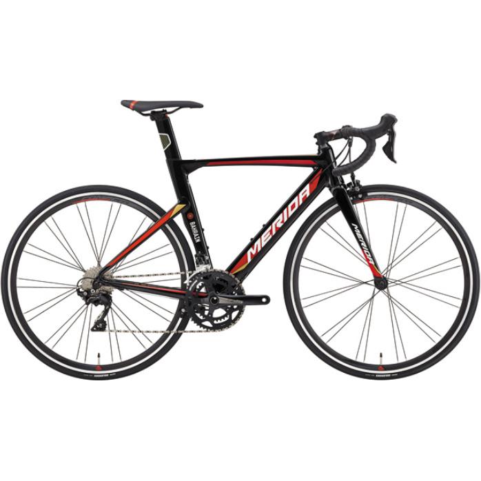 【代引不可】19メリダ REACTO 400 ブラック(チーム レプリカ)【自転車】【ロードレーサー】