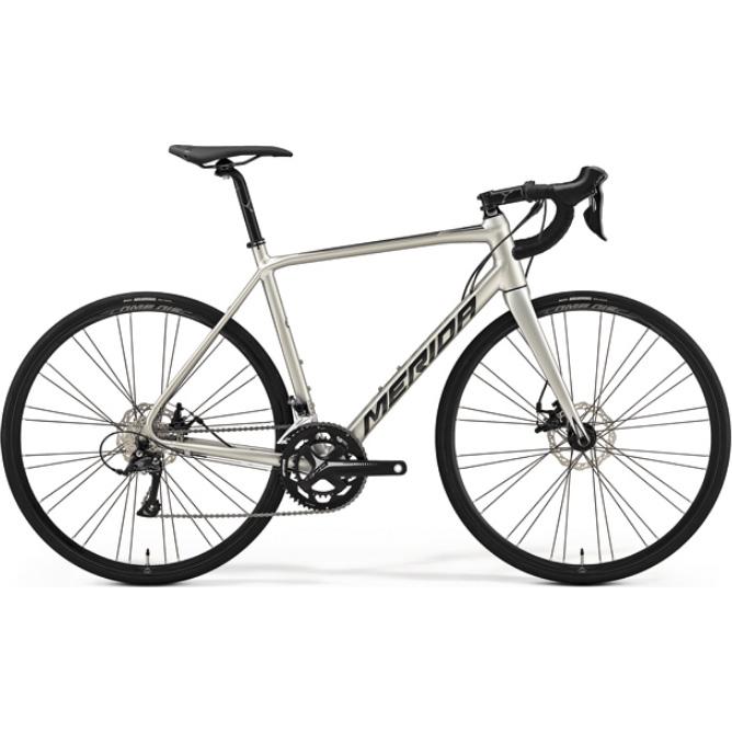 【代引不可】19メリダ SCULTURA DISC 200 シルクチタン(ブラック)【自転車】【ロードレーサー】
