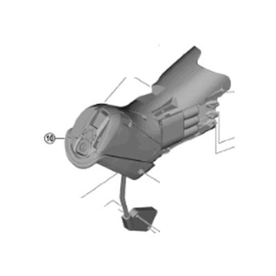 [10]ブラケットユニット(左用)