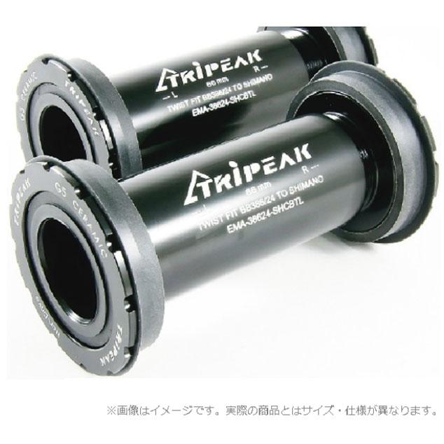 トライピーク ツイストフィットBB BB386 軸径:24mm シマノ対応 スチールベアリング