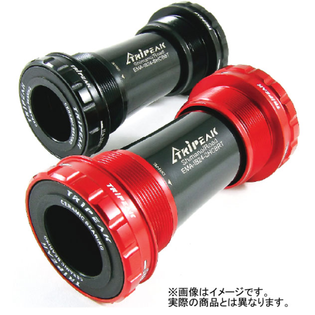 トライピーク THREADED BB シェル幅:68/73mm 軸径:24/22mm SRAM GXP セラミック