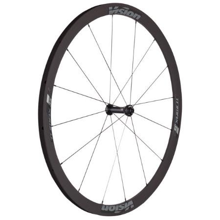 ビジョン TRIMAX 35KB ホイール シマノ/スラム用 チューブレスレディー V17 前後セット【自転車】【ロードレーサーパーツ】