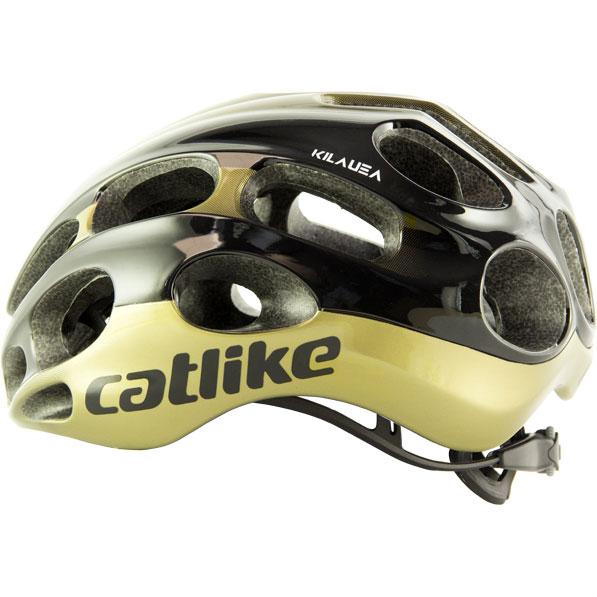キャットライク KILAUEA(キラウエア) ブラック/ゴールド ヘルメット