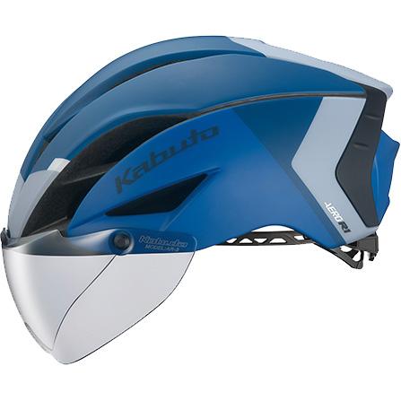 OGKカブト エアロ-R1(AERO-R1) G-2 マットネイビーブルー ヘルメット